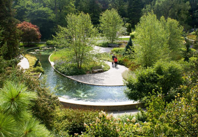 The breathtaking lower Rock Garden