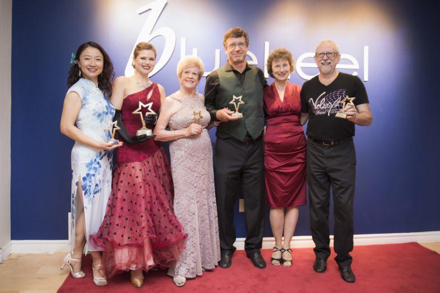 Grace Zhang, Ruth Mirecki, Dorothy Browne, Philip & Louise Green & Mel Picart - photo credit Votek Pendrak