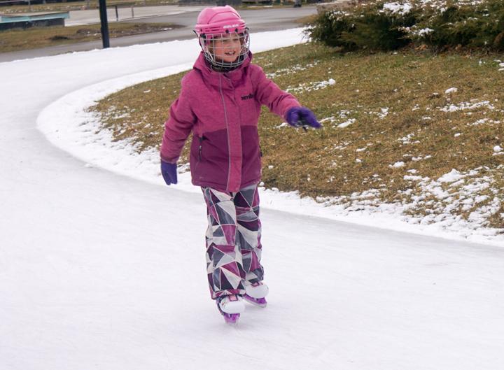 Skating the Ice Loop