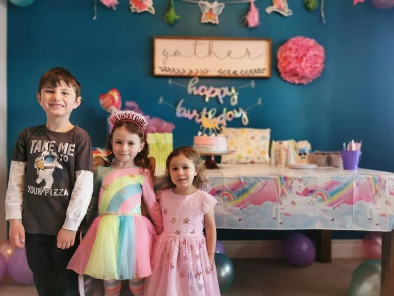 Audrey's 5th birthday From Rebeca Wood FB